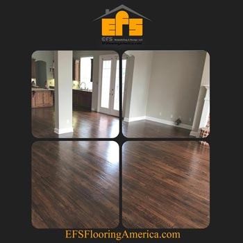 Different types of wooden flooring