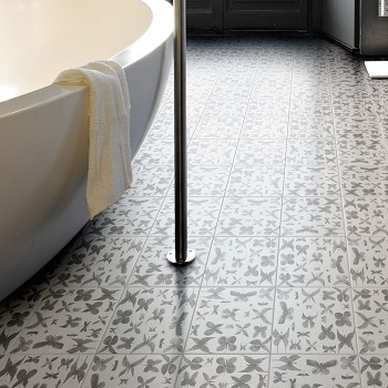 Ceramic tile & porcelain tile flooring